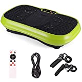 WEIZI Vibration plate exerciser whole body vibration fitness platform Shake Plate Hypervibe fast weight loss magnetic massage Smart Mute remote control 2 resistance bands