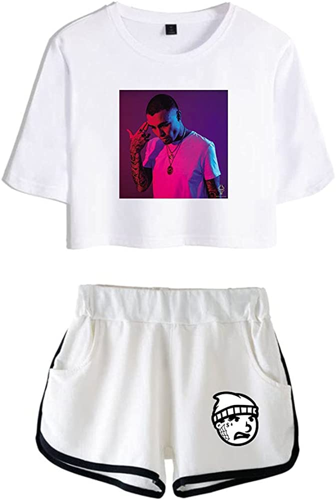 Tydres Gera MX 2 Piece Sets Hip Hop Short Sleeve Suit Womens Girl Set Casual Accessories Fashion Suit (WW-YM00721,XS)