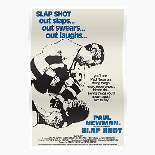 George Roy Newman Brothers Filmmaking Hockey Cinema Hill Hanson Film Paul Sports Home Decor Wandkunst drucken Poster !