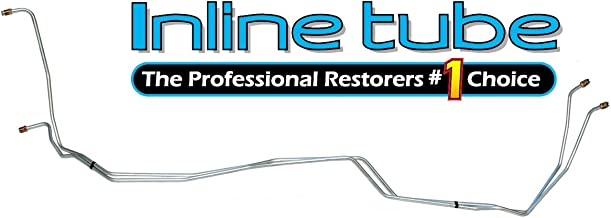 Inline Tube CTT8145 Compatible With 1981-87 Chevrolet GMC 4wd 700R4 Automatic Transmission Trans Cooler Lines Kit OE Steel (W 3 7)