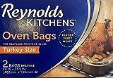 REYNOLDS TURKEY BAGS (Pkg of 4-2 packs, 8 Total)