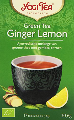Yogi Tea Thé Vert Gingembre Citron Bio 17 Sachets