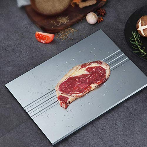 SBDLXY Auftauteller Schnell/Auftautablett/Schneller Auftauen für Fleisch und Tiefkühlkost Auftauen Platte Schneidebrett Küchenhelfer Werkzeug