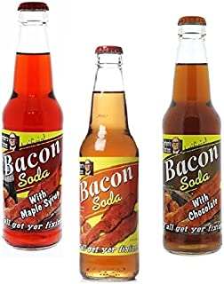 Lester's Fixins Bacon Flavored Soda Variety 3-Pack
