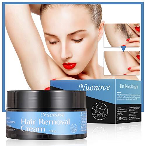 Haarentfernungscreme, Enthaarungscreme, Enthaarungsmittel, Enthaarungscreme Männer, Hair Removal Cream Schnell und Einfach Haarentfernung, Lässt die Haut sanft, 100g