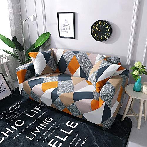 B/H Lavable/Antiácaros Funda de sofá,Funda de sofá elástica Universal, Funda de sofá de Tela Antideslizante-E_235-300cm,Sillón Elastano Fundas de Sofá