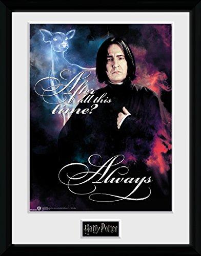 GB Eye Gerahmtes Poster Harry Potter, Snape immer, 30x 40cm, verschiedene
