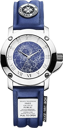 Character Watches DR194 - Reloj para Hombres, Correa de Cuero Color Negro