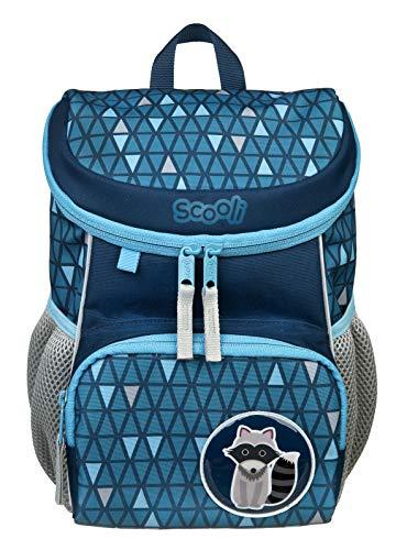 Scooli Mini-Me Kindergartenrucksack Jungen I ergonomischer Rucksack für Kinder, mit abnehmbahren Brustgurt, 8l, Kinderrucksack für Mädchen und Jungen