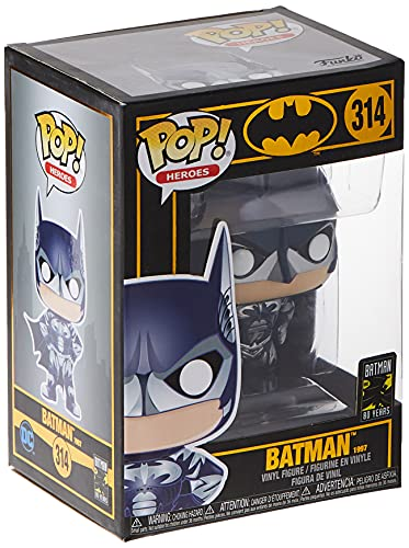 Funko- Pop Heroes 80th-Batman (1997) Collectible Toy, 37262, Multicolour