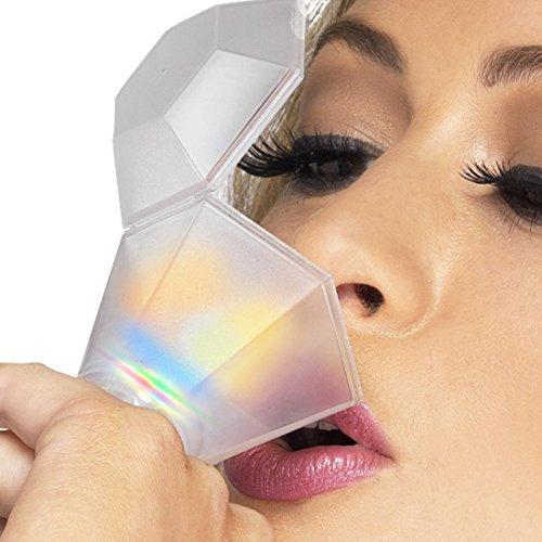 NET TOYS Anillo de Cristal para Despedida de Soltera Accesorios Mujer Vidrio Diamante
