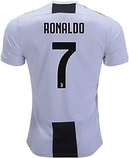 Ronaldo 7 Juventus 18/19 Soccer Jersey Mens Size L
