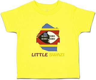 Custom Baby & Toddler T-Shirt Little Swazi Cotton Boy Girl Clothes