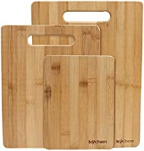 Natural Bamboo 3 Piece Cutting Board Set by K??chen by K??chen