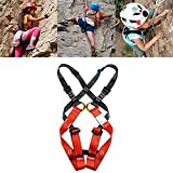Dometool Children Kids Rock Climbing Harness Seat Belt Full Body Protective Climbing Belt,Suitable Age:3-5 Years Old