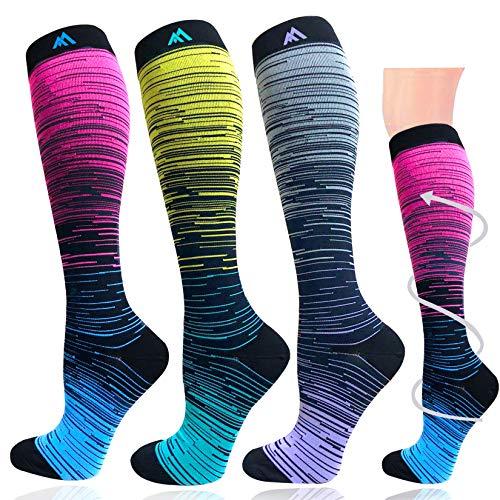 Compression Socks for Women&Men-20-30mmhg Best for Circulation,Pregnancy,Medical,Nurse,Running,Travel
