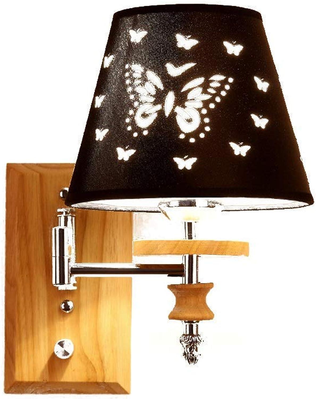 Hdmy Schlafzimmer Schmetterling Wandleuchte Nacht Kontinentale Pastorale Beleuchtung Dekorative Led Doppelkopf Einfache Persnlichkeit Moderne Wandleuchte Lampe