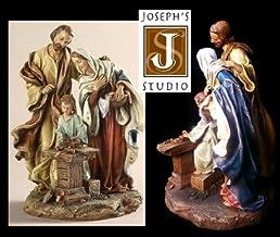 Holy Family Figurine - Carpenter Shop Statue - St Joseph's Studio