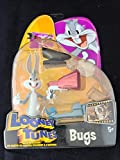 Vintage Looney Tunes 2003 Back in Action Bugs Bunny action figure sm