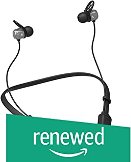 (Renewed) PTron Tangent Evo Bluetooth Wireless Earphones 5.0 in-Ear Headphones with Microphone Stereo Sport Headsets for All Andriod & iOS Smartphones (Black/Grey)