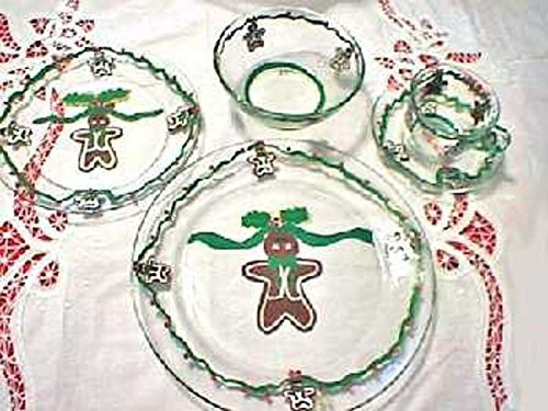 Gingerbread Dinnerware Sets For Christmas by Clearly Susan, Gingerbread Men, Christmas Dinnerware, Christmas Tableware
