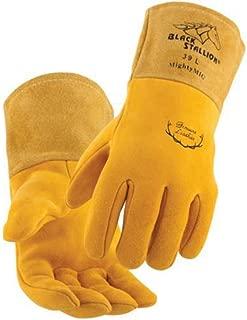 Black Stallion 39 Mighty MIG® Deerskin Premium MIG Welding Gloves - X-Large