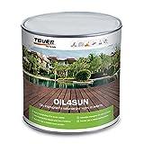 Tover OIL4SUN 1 L | Olio impregnante naturale per decking e legno in esterno