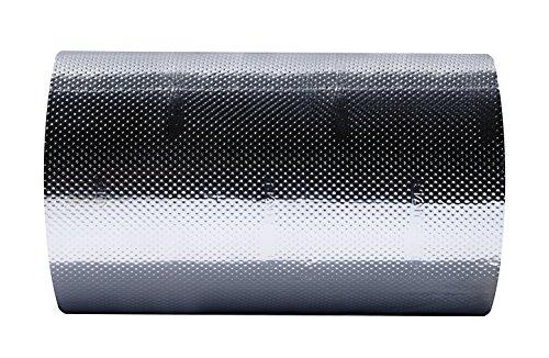 HairGrip PLUS - die erste rutschfeste Aluminium-Haarstraenenfolie - 11 cm - 75 m PLUS - erste rutschfeste Aluminium-Haarstraehnenfolie - Extra reissfest