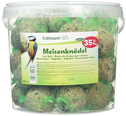 Erdtmanns 35 Meisenknödel im Eimer, 1er Pack (1 x 3 kg)