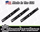 (3) Heavy Duty Mower Blades Fits Kubota 60' Deck Models Replaces K5371-99040