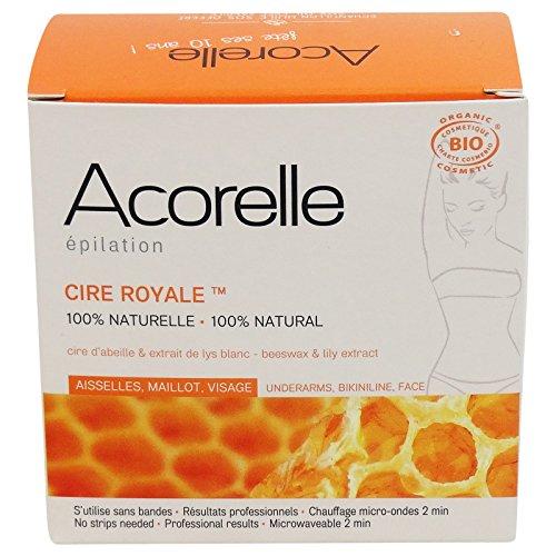ACORELLE - Cire Royale sans bandes - Avec Cire d'Abeille et Lys Blanc