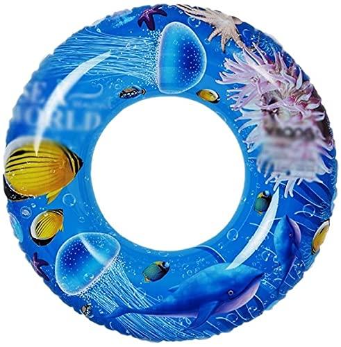 Anello di nuoto gonfiabili galleggianti gonfiabili Nuoto Row Buoy bambino anello di nuoto Piscina Vasca da bagno anello di sicurezza Auxiliary Floating anello Adatto for adulti e bambini (Dimensioni:
