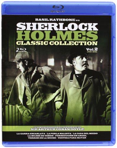 Sherlock Holmes Classic Collection - Volumen 2 [Blu-ray] [Import espagnol]