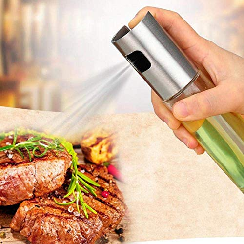 Olie fles van het glas olijfolie spuit olie spuiten lege fles azijn fles olie dispenser kokende salade barbecue keukenbaksel lili
