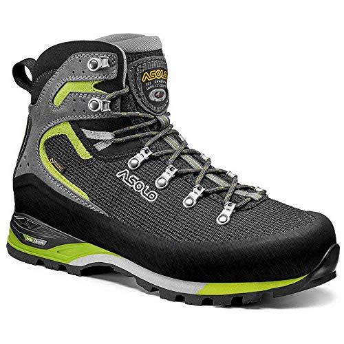Asolo Corax Gv Chaussures De Sport Hommes Noir/Vert Chaussures De Marche Chaussures - - noir/vert, 43 1/3 EU