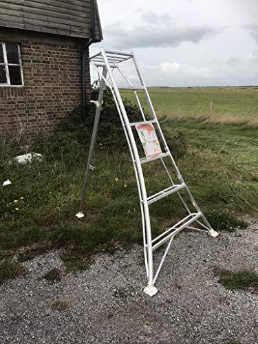 Estate to Garden Tripod Ladder Aluminium Arborist, 1 leg Adjustable 2.4m and 3m available (1.8m)