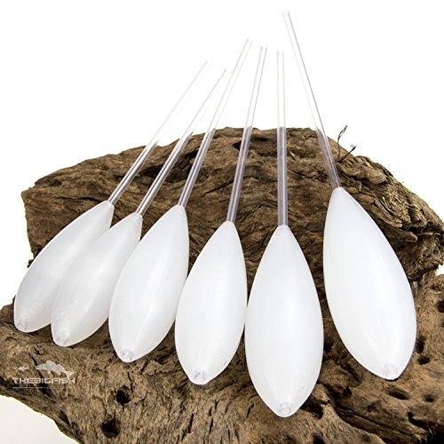 TheBigFish - Sbirolino Set 6 Stück - schwimmend weiß