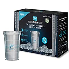 INFINITELY RECYCLABLE: made from 100% aluminum that recycles over and over without losing quality - unlike plastic cups, which end up in landfills EXTRAORDINARILY STURDY: never worry about our cup giving in to a firm grip or large beverage. A BETTER ...
