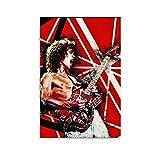 xiaoxian Eddie Van Halen Gitarren-Poster und