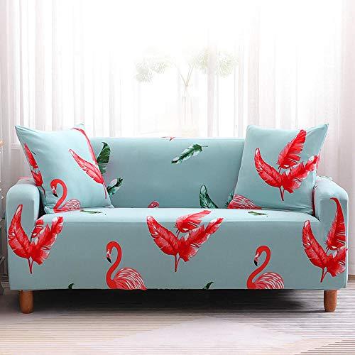 Bedrukte All-Inclusive Stretch Sofa Cover Universele Antislip Sofa Beschermhoes Doek Combinatie Chaise Longue Sofa Cover-5_2 zits