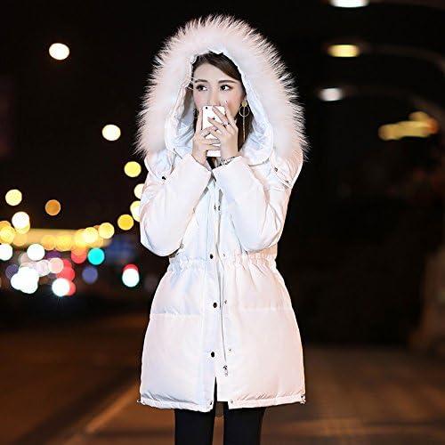 XuankuPour Les Vêtements Chauds d'hiver épais Manteau De Laine Bouchon Blanc, Même dans Down Jacket Femme