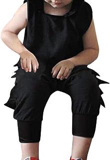 Divertido Pijama,K-Youth Mono para Bebés Disfraz Dinosaurio Pelele Bebe Niño Verano Ropa Bebe Recien Nacido Niños Mameluco Bebe Niña Body Bebé Unisex Bodies Niñas Infantil