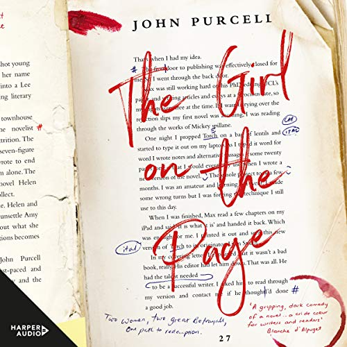 The Girl on the Page audiobook cover art
