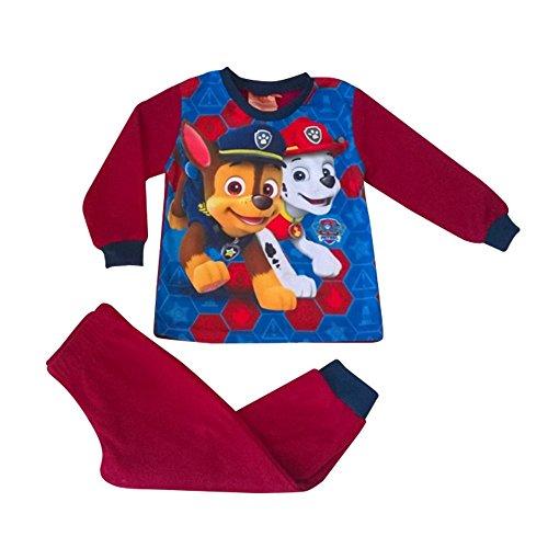 Pat patrouille - Pyjama polaire Pat Patrouille rouge Taille de 2 à 6 ans - 2 ans