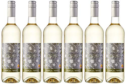 Señorío de la Tautila Vino Blanco - Paquete de 6 x 750 ml