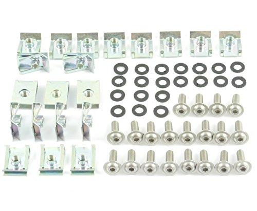 Tech-Parts-Koeln Verkleidungsschrauben + Klemmen/Clips Aprilia Rs 50/125 / K 1200 Pegaso 651