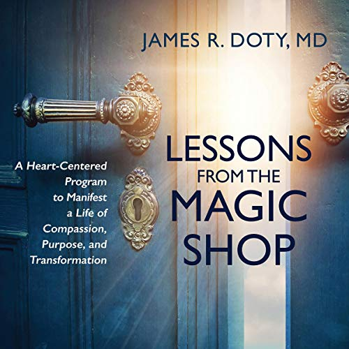 Lessons from the Magic Shop audiobook cover art