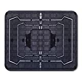 Aikul Mouse Pads Rainbow Frost Six Siege Mouse Mat 9.5' x7.9' Mouse Pad Suitable for Notebook Desktop Computers Office Accessories