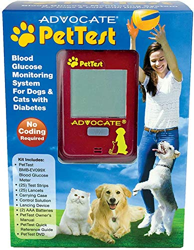 Pettest Blood Glucose Monitoring System for Dogs and Cats