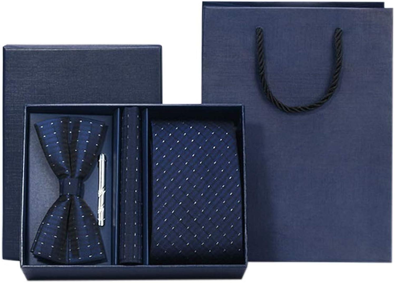 compras online de deportes TIE LSJ Shop Corbatas para para para Hombres, Regalos de Boda, Corbatas Pajaritas Toallas Cuellos Cuadrados, Cuatro Juegos de Vestidos, Regalos para Hombres (Color    10)  preferente